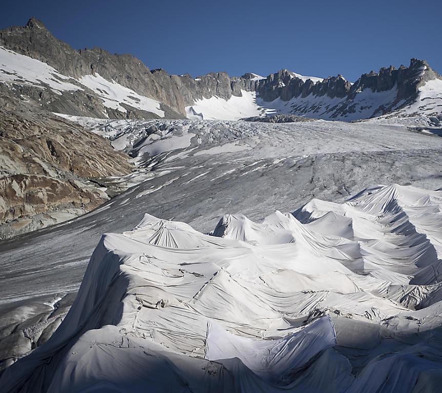 Gletscherrettung (Foto: Keystone | URS Flüeler)
